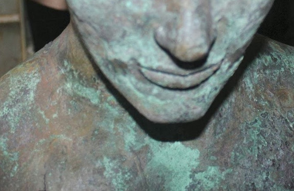 Vernice effetto bronzo antico