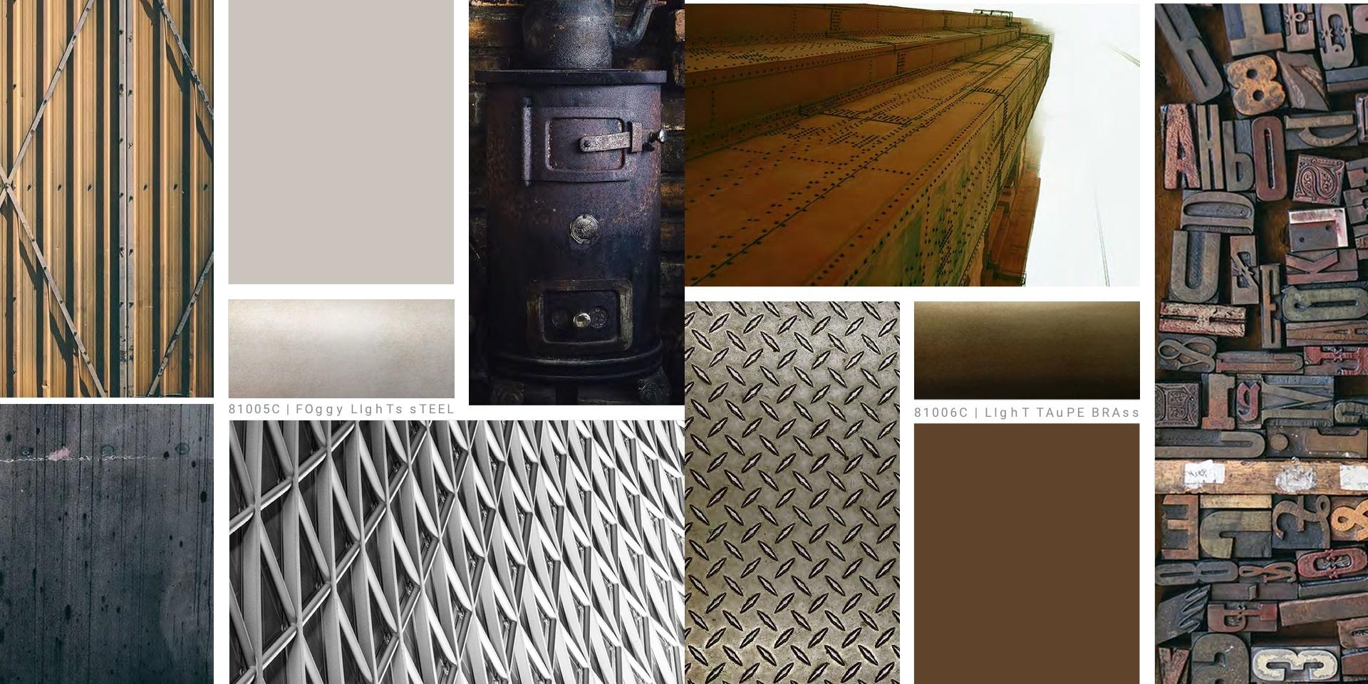 Catalogo variazioni metalliche